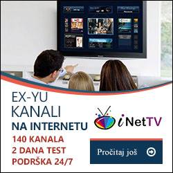 inet TV 150 + EX YU TV kanala, Your TV o