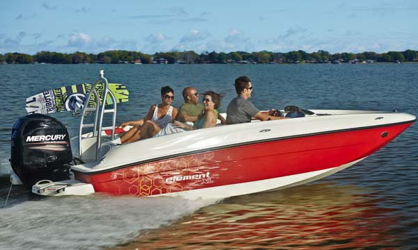 Bayliner Element XL gliser    NOVO