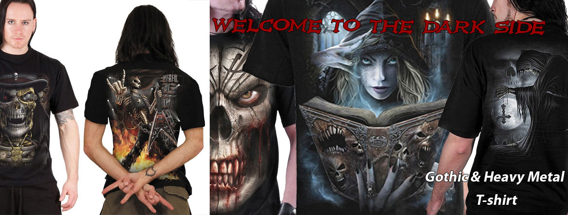 Gothic and Heavy metal T-shirts