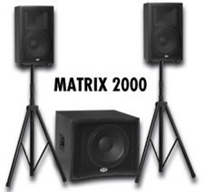 B-52 MATRIX-2000 THREE PIECE POWERED SPE