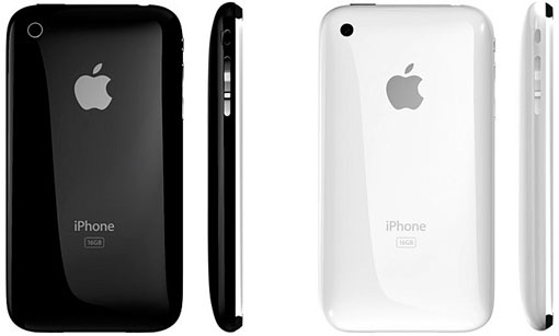 Apple iPhone 3G S/3GS crno ili bijelo